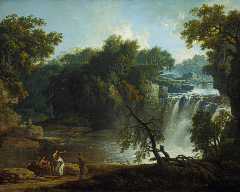 The Falls of Clyde painting